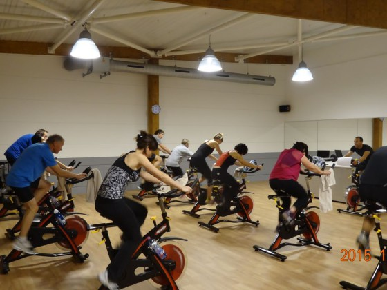 salle fitness cours biking