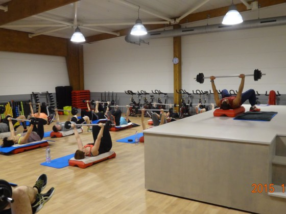 salle fitness cours bodypump